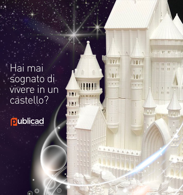 castello in stampa 3d